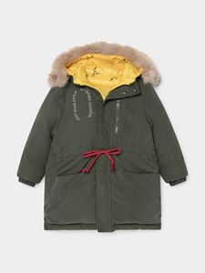 Image 4 - 幼児の少年ジャケット幼児少女の冬服ベビージャケット子供ジャケットボボダウンコート OUTWEARS クリスマス服毛皮のコート