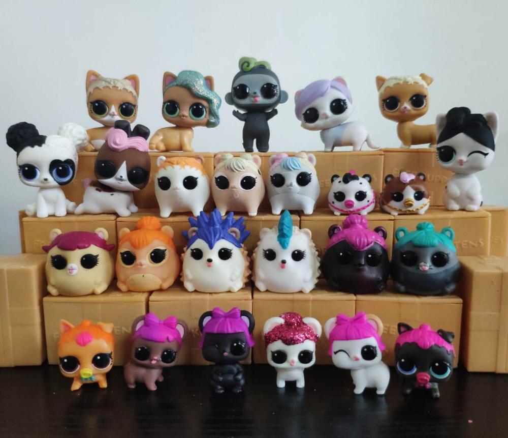 1Pcs LOLs lil Pet dolls 100% original L.O.L. Surprise! Surprise change colour Pets Collectible Dolls best gift for Kids(China)