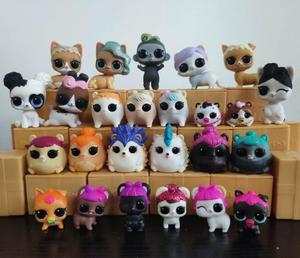 1Pcs LOLs lil Pet dolls 100% original L.O.L. Surprise! Surprise change colour Pets Collectible Dolls best gift for Kids(China)