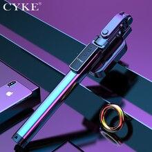 170cm נייד נסתרת חצובה Bluetooth Selfie מקל להארכה Selfie מקל אלומיניום חצובה עבור iPhone סמסונג טלפון למלא אור