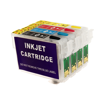 Refillable Ink Cartridge T1281 For Epson S22 SX125 SX130 SX235W SX420W SX440W SX430W SX425W SX435W SX438 SX445W BX305F SX230 29xl t1291t2992 t2993 t1294 ink cartridge full ink for stylus sx235w sx230 sx420w sx425w sx430w sx435w sx440w sx445w printer