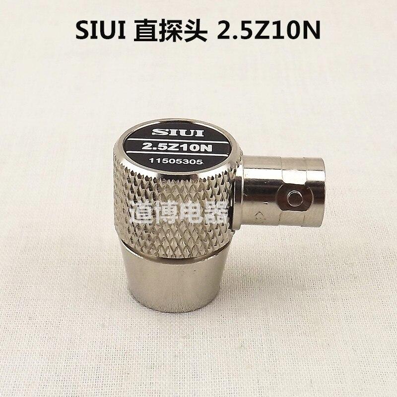 Ultrasonic Straight Probe SIUI 2.5Z10N 5Z10N Horizontal Plug-in Flaw Detector Metal UT Non-destructive Testing