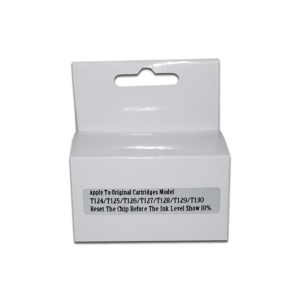 T128 T1281-T1284 Chip Resetter para Epson stylus