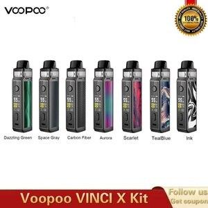 Image 2 - New Original VOOPOO VINCI X Pod Kit 5.5ml Tank Dual coil System 70W Powered By Single 18650 Battery Vape Kit Vs Vinci Mod Kit