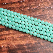 Fashion jewelry 4/6/8/10 / 12mm Australian Jade, suitable for making jewelry DIY bracelet necklace