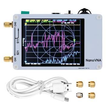 Analizador de red de Vector 50 KHz-900 MHz pantalla Digital táctil de onda corta MF HF VHF UHF Analizador de antena onda de pie