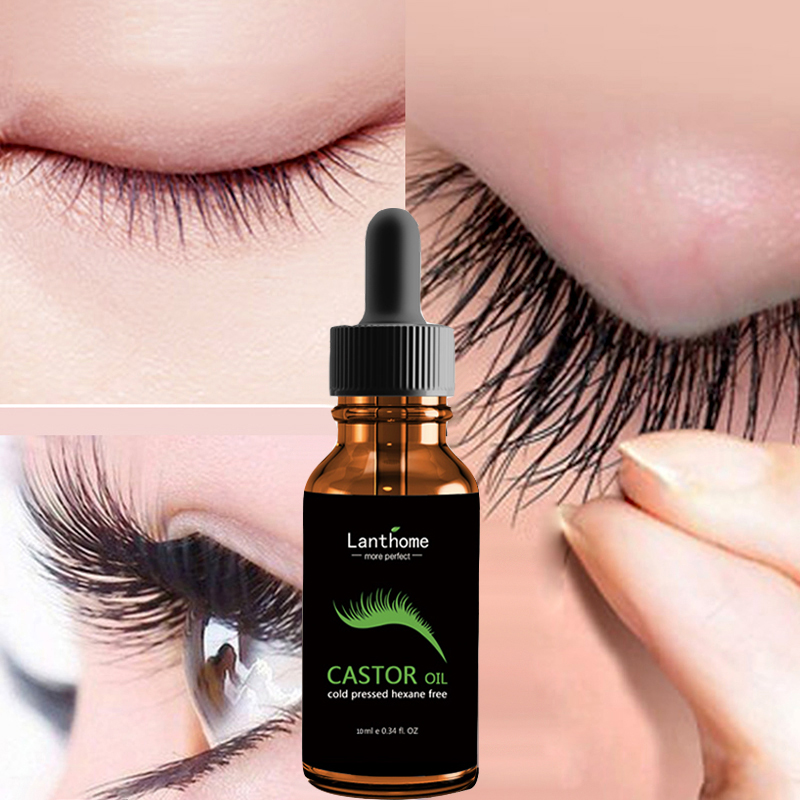 Eyelash Growth Serum Liquid Eyelash Enhancer Castor Oil Treatment  Eyes Lashes Mascara Hair Nourishing Lash Lift