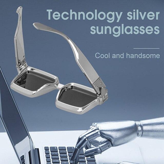 SHAUNA Retro Square Sunglasses Women Brand Designer Summer Styles Candy Colors Fashion Silver Mirror Shades Men UV400 2