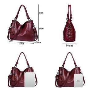 Image 5 - Yonder big women handbags leather shoulder bag female large capacity casual tote bags ladies high quality hobos crossbody bags