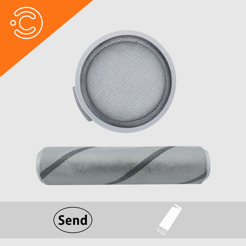 Roller Brush Filter For Xiaomi Mijia SCWXCQ01RR Vacuum Cleaner Replaceable Dedicated Parts