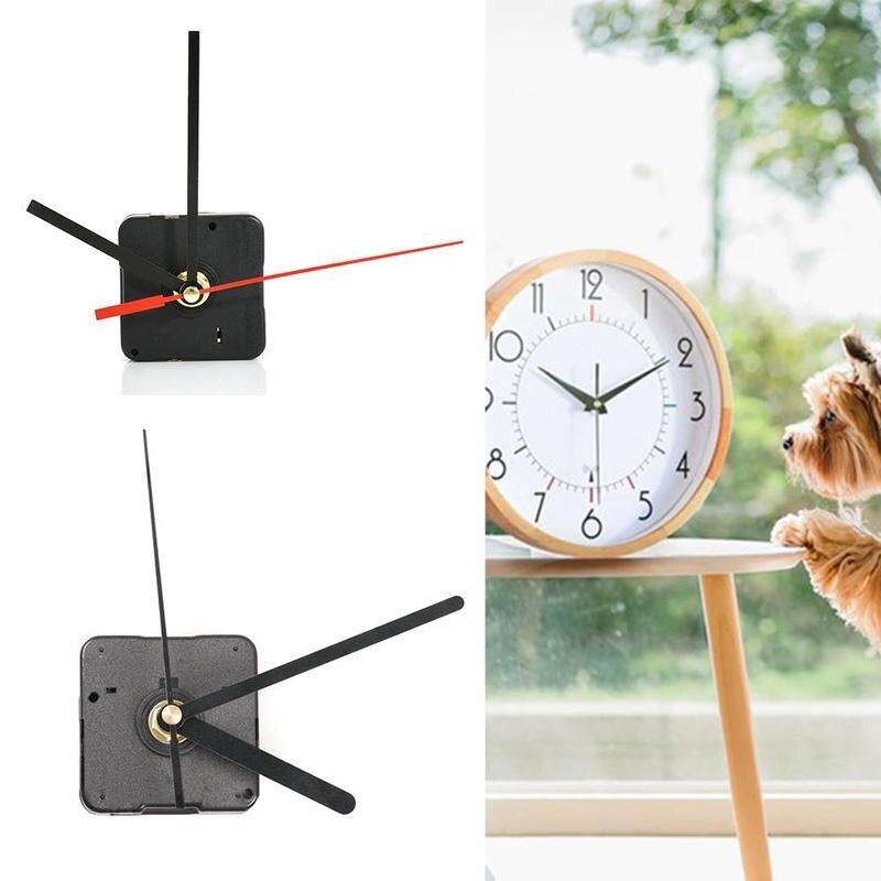 Clock Mechanism Kit Mechanism For Parts Wall Clock Quartz Hour Minute Red Hand Quartz Clock Movement Decoration High Quality