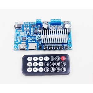 Image 5 - TPA3116 50W*2 Bluetooth 5.0 Audio Receiver Stereo Digital power amplifier board FM Radio USB Decode Remote control