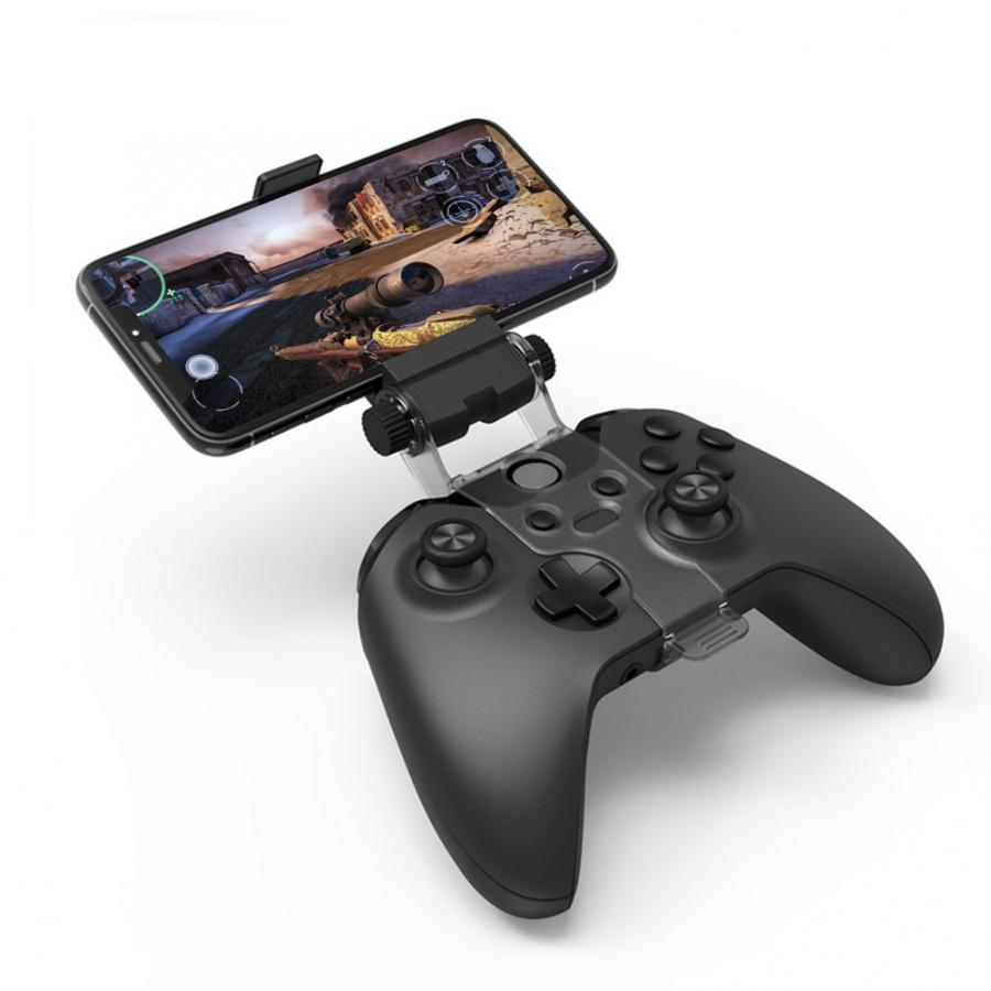 Phone Bracket Adjustable Gaming Gamepad Holder For Xbox One / Slim / X Controller Smart Mobile Phone Clip Clamp Mount Holder