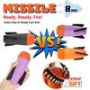 8Pcs Missile Darts For Nerf Soft Missiles for NERF N-Strike Modulus Blaster Battle Missile Strap Elite Sniper Accessory for Kids