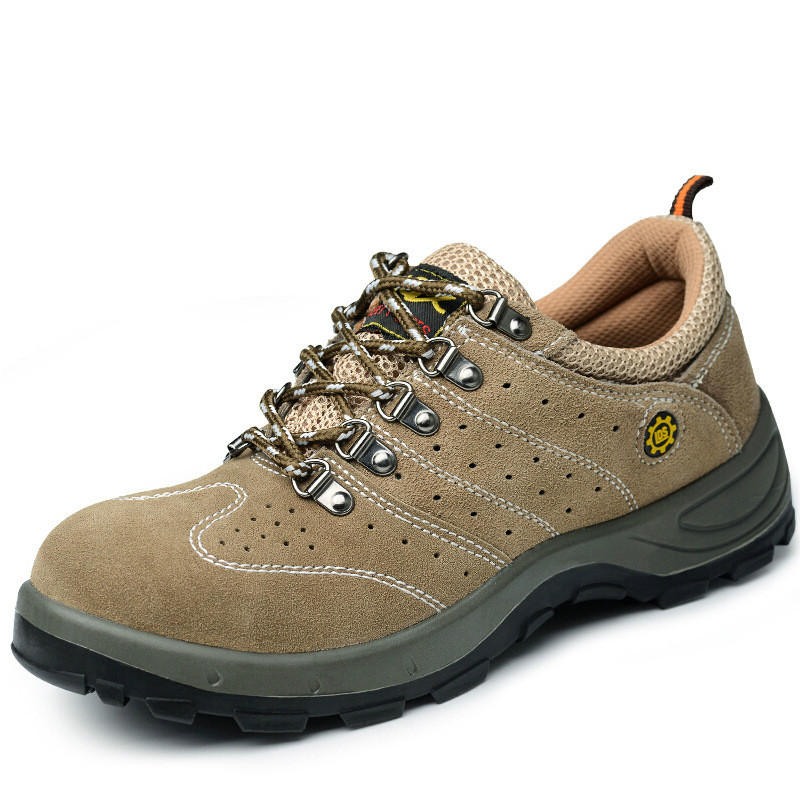 Oil proof and acid proof steel head for anti smashing and anti piercing of air permeable safety shoes|Safety Shoe Boots| |  - title=