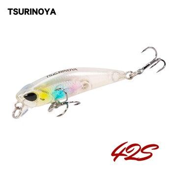 TSURINOYA, señuelo de pesca DW29 que se hunde, Jerkbait, piscardo de 42mm 3,2g, señuelo duro Artificial, señuelo de piscardo, señuelo para trucha