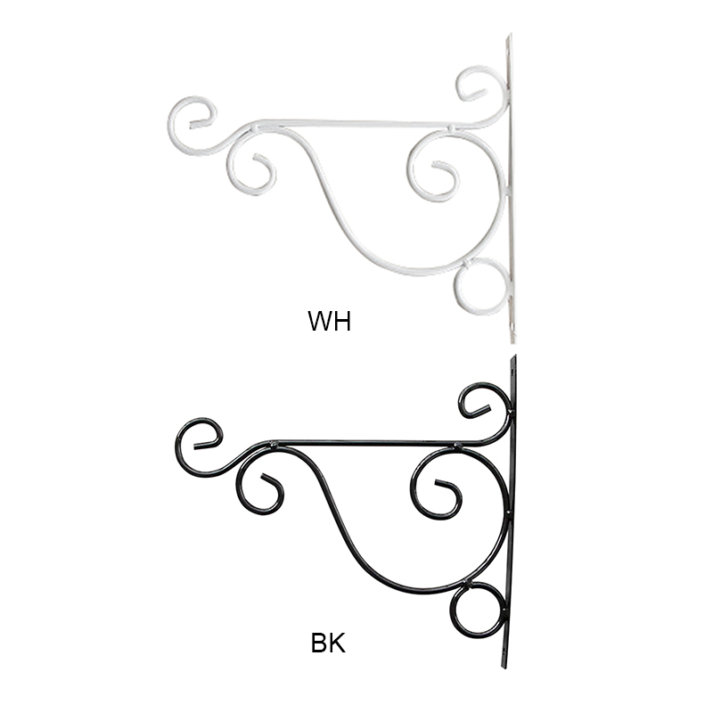 Wall Hanging Brackets Hooks For Garden Basket Lantern Lawn Light Flower Pots Plant Hanger Gardening Decoration 25x20CM