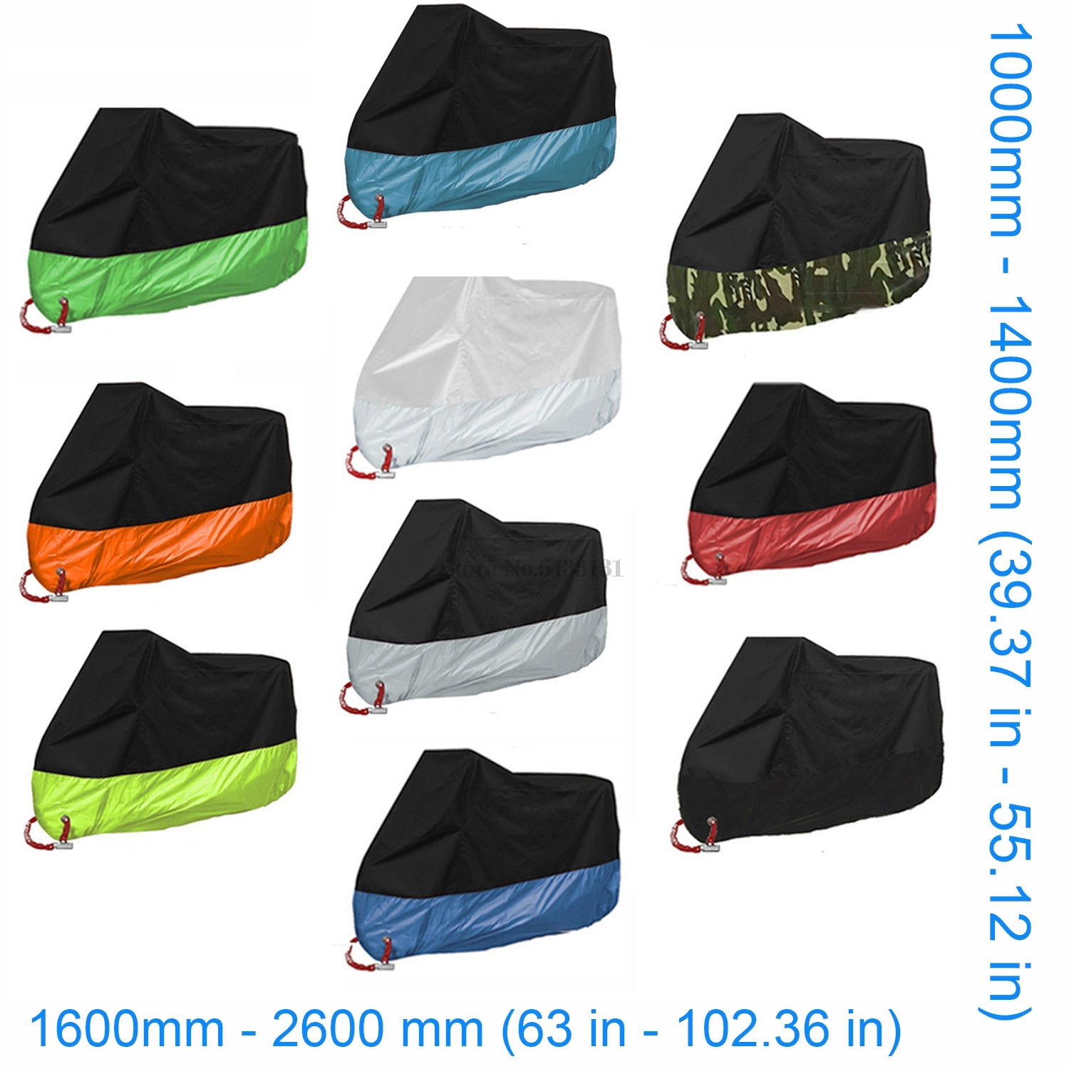 Motorcycle cover UV anti funda for 400 Ducati 899 <font><b>Kx</b></font> 250 Africa Twin 750 Gas Gas Ec Bmw K1300R Yamaha Xt <font><b>125</b></font> Kawasaki <font><b>Parts</b></font> Lap image