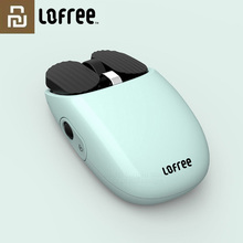 Youpin LOFREE Bluetooth kablosuz fare 2.4G Bluetooth çift mod bağlantısı jest oyun ofis bilgisayar fare pencere