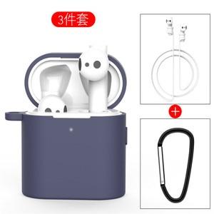 Image 3 - 3 in 1 Silikon Fall Für Xiaomi Airdots 2 2s Wireless Bluetooth Headset Schutzhülle Für Xiaomi Air 2 2s Headset Abdeckung