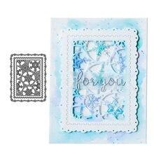 Рождественские штампы snowfalke фон полый металлический Трафаретный