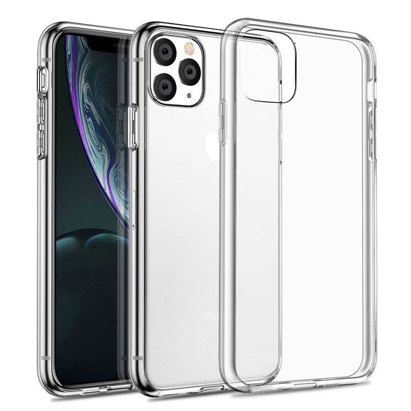 Image 2 - Felkin Clear Silicone Phone Case for iPhone 11 Pro Max Xr X XS Max 5 6 7 8 Plus Soft TPU Phone Case for iPhone 11 Pro Xr XS Max-in Fitted Cases from Cellphones & Telecommunications