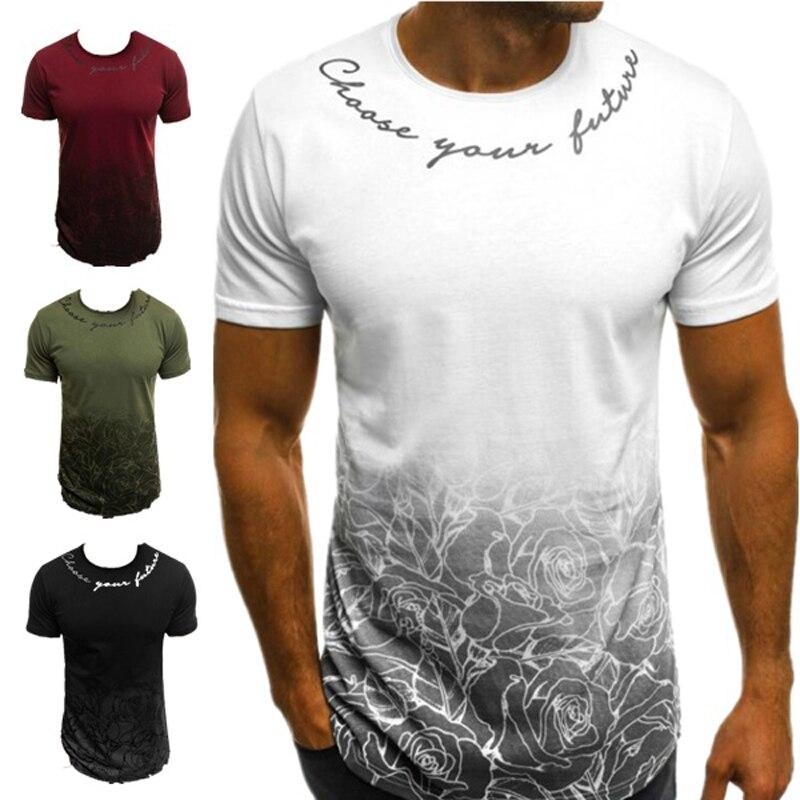 ZOGAA Hot 2019 New Spring Fashion Brand O-Neck Slim Fit Long Sleeve T Shirt Men Trend Casual Mens T-Shirt Korean T Shirts