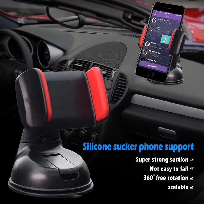 Universal Mobile Car Phone Holder For Phone Car Mobile Phone Holder Colourful Mount Windscreen Dashboard