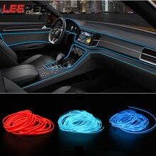 Rope Neon-Light El-Wire Decorative-Lamp Auto-Led-Strip Auto-Atmosphere DIY LEEPEE 5-Meters