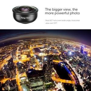 Image 3 - APEXEL HD 8mm 185 degree super fisheye lens 4K professional mobile Phone camera lens for iPhone7 8 xs maxhuawei Xiaomi cellphone