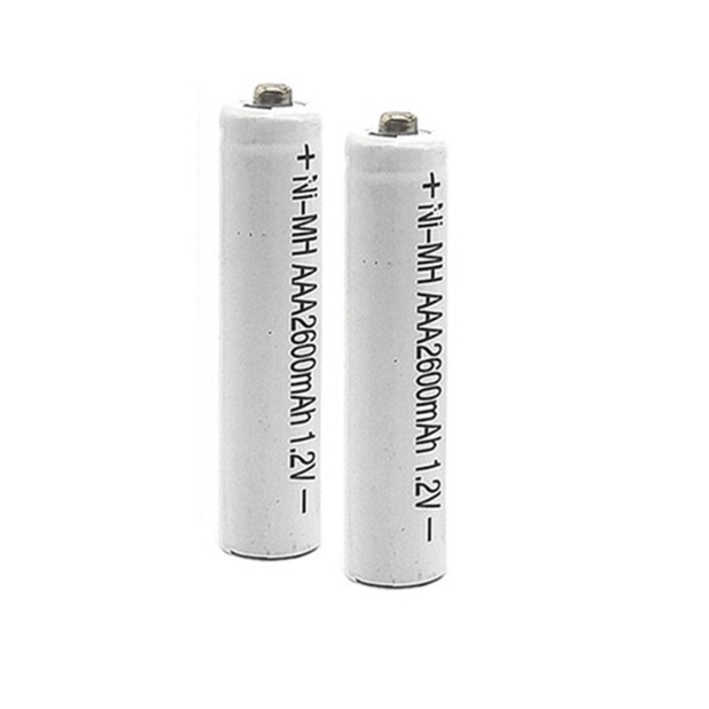 Free Shipping 8/12PCS/LOT  AAA Batteries Ni-MH 2600mAh 1.2V Nimh AAA Battery  Low Self-Discharge NiMH Rechargeable Batteries Aaa