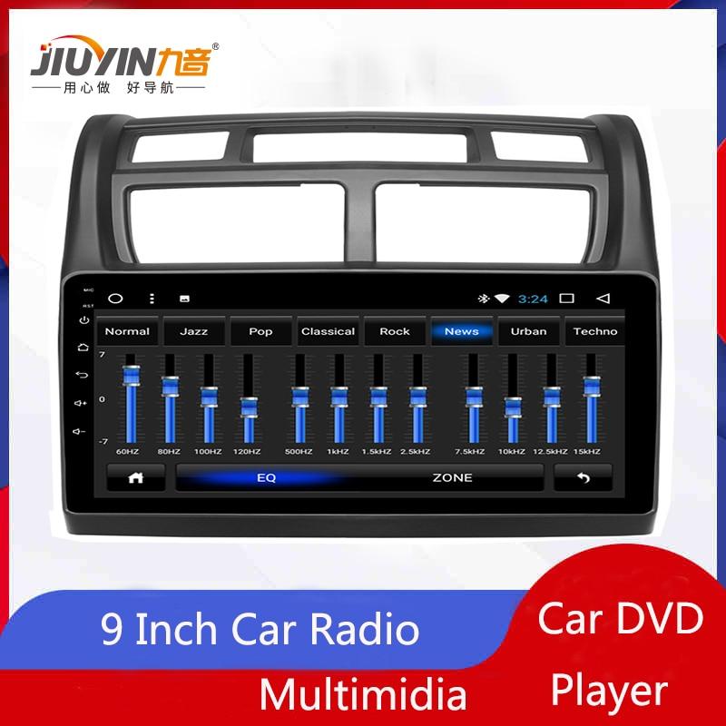 JIUYIN 9inch Car Radio For KIA Sportage 2007 2008 2009 2010 2011 2012 2013 2014 2015 DVD Player Navigation Multimedia