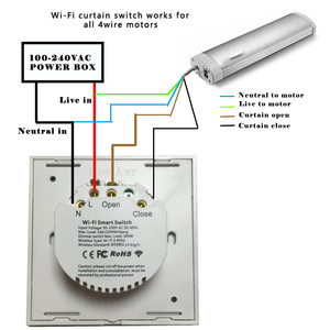 Image 5 - EWeLink EU US WiFiผ้าม่านสำหรับลูกกลิ้งชัตเตอร์มอเตอร์Google Home Echo Voice Control DIYสมาร์ทบ้าน