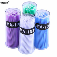 Eyelash-Brushes Mascara-Wands Makeup-Tools Applicator Micro 100pcs Spoolers Disposable