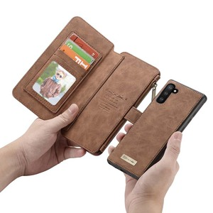 Image 4 - For Samsung Galaxy Note 10 Wallet Case Caseme Vintage Leather Flip Book Style Mobile Phone Bags For Galaxy Note10 plus Coque