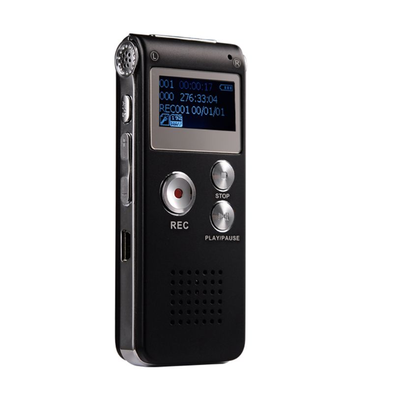 8GB Clip USB Digital Voice Recorder Audio Dictaphone Recording Pen MP3 Player