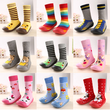 Children non-slip shoes baby soft rubber sole floor socks baby toddler sock shoes baby fashion boots newborn shoes