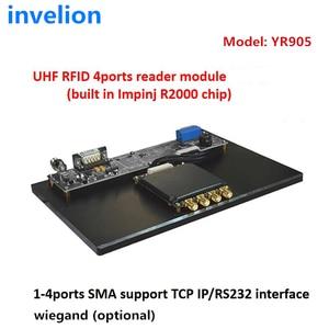 Image 2 - 865 MHz Impinj R2000 ยาวช่วง UHF RFID โมดูล Passive คงที่ RFID เครื่องอ่าน UHF 915 MHz ฟรี dogbone RFID lable ตัวอย่างสำหรับ Timing
