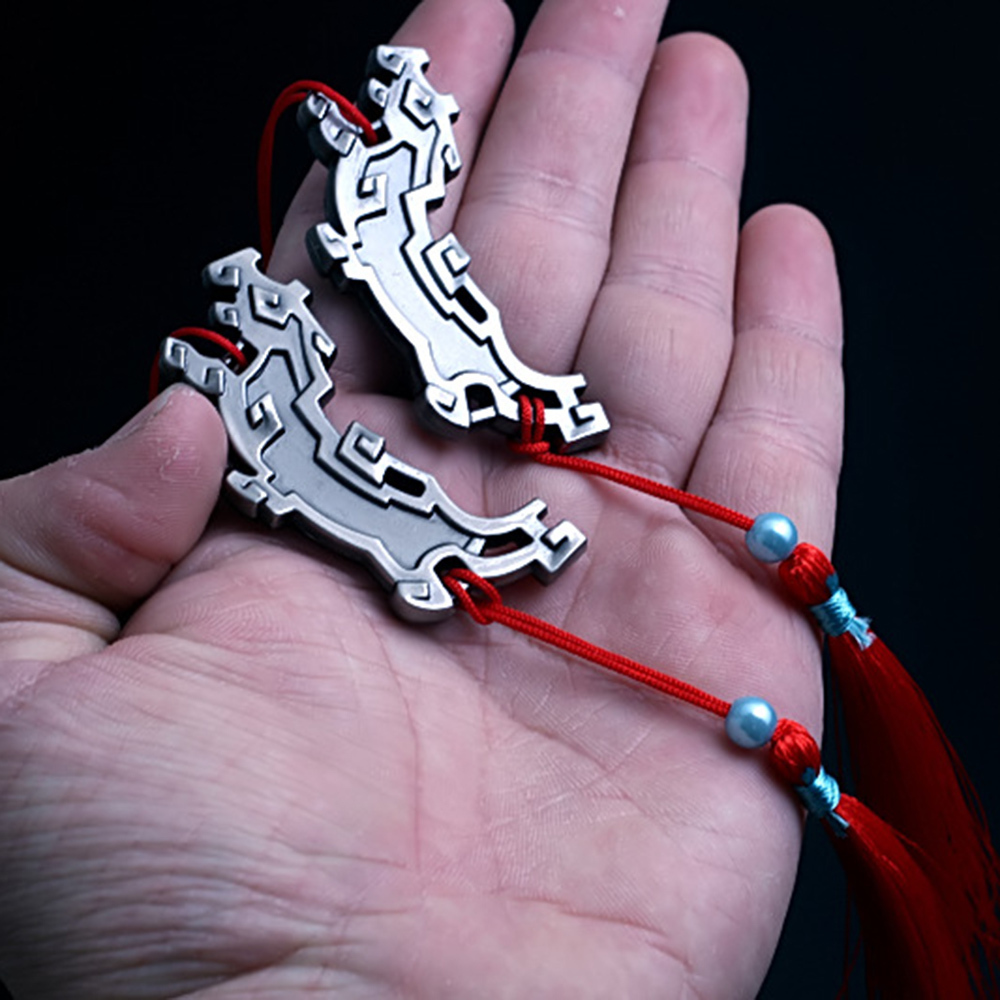 New Arrival Grandmaster Of Demonic Cultivation Metal Weapon Hanger Wei Wuxian's Pedant