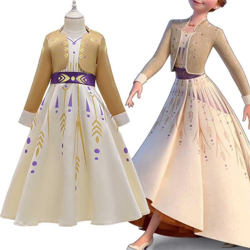 2020 bebek kız düğün elbisesi kızlar için giysi çocuk Cosplay sonbahar kostüm çocuk cadılar bayramı elbise yılbaşı parti giyim