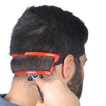 Волшебный Салон Парикмахерская линия для шеи руководство для декольте шаблон для стрижки волос DIY инструмент шаблон для волос линия для шеи