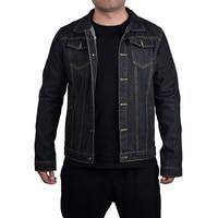 Denim Blue Black Mens Jackets Old Fashion Cool Streetwear Mens Jackets and Coats Vintage Male Jeans Coat Men Jacket 2019 D20