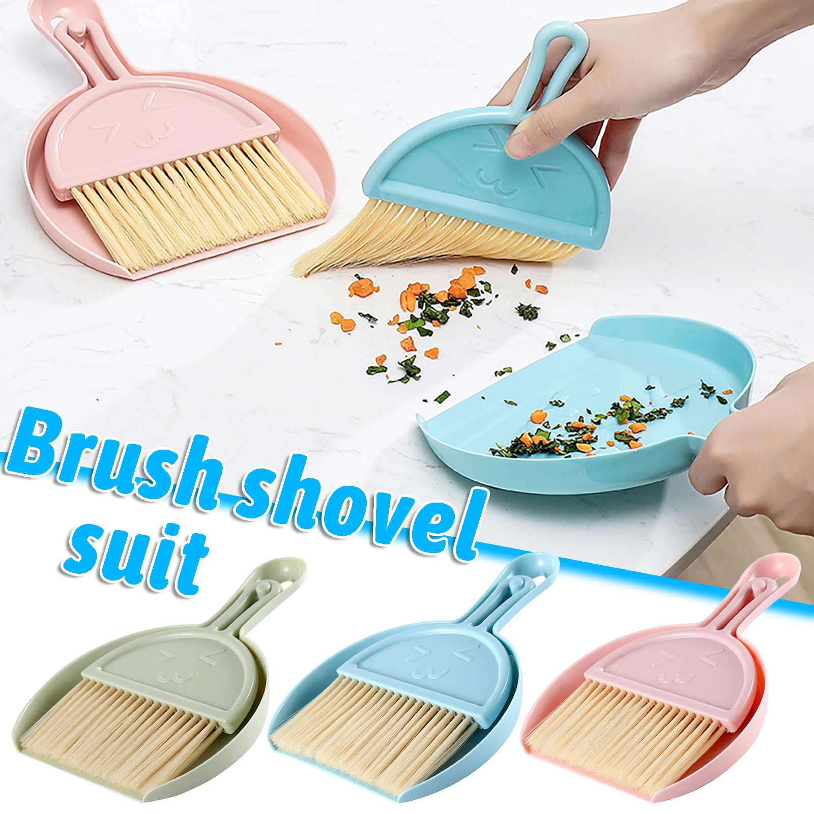 Sporting Mini Desktop Sweeping And Cleaning Brush Small Cleaning Brush And Pan Set Are Used To Clean The Table Sofa And Car Equipment