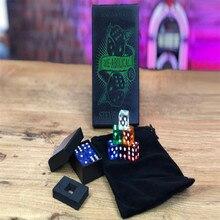 Die-Abolical V5(гиммики и онлайн-инструкции) от Стива Кука Волшебные трюки магические кости предсказание иллюзии Крупным планом Magic Fun