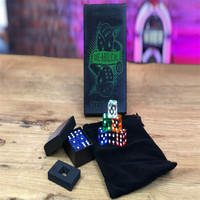 Die Abolical V5 (Gimmicks and Online Instructions) by Steve Cook Magic Tricks Dice Magic Prediction Illusions Close up Magic Fun