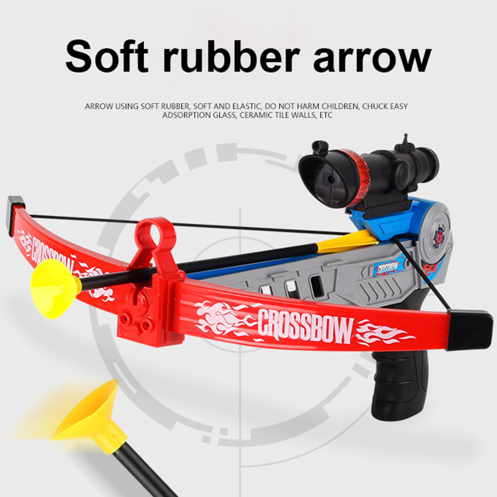 Children's Bow And Arrow Toy Shooting Crossbow Gun Set Outdoor Sports Leisure Games Archery Parent-child Interaction 480