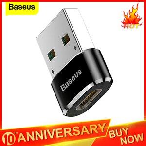 Baseus USB to USB Type C OTG Adapter USB-C Converter Type-c Adapter For Samsung S10 Xiaomi Mi 9t Oneplus 7 6t USB OTG Connector