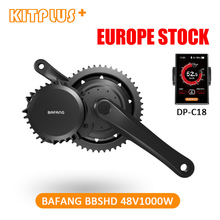 Bafang BBSHD BBS03 8fun 48V 1000W Ebike мотор среднего привода, 68 мм/100 мм/120 мм комплект для переоборудования электрического велосипеда