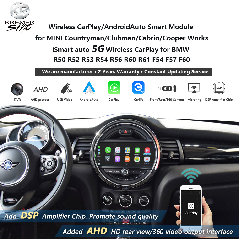 Wireless Apple CarPlay Android Auto ...