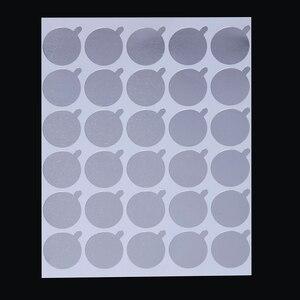 Image 4 - Suporte de cola de cílios descartáveis paletes extensão de cílios cola almofadas cílios adesivos suporte na pedra de jade de cílios